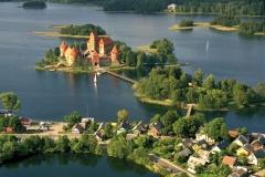 Trakai castle palace