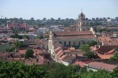 Vilnius, view from Gediminas Tower