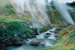 Fumaroles, Valley of the Geysers, Kronotsky Nature Reserve, Kamchatka, Russia