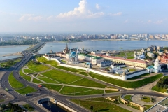 Kazan city view