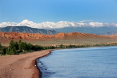 Issyk-Kul Lake is the second largest alpine