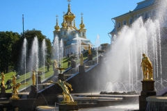 Fontain in Peterhof