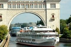 Waterway lock near Uglich