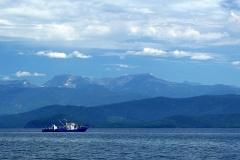 Panoramic view of Baikal