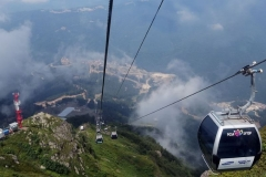 Cableway up to 2370 m
