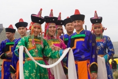 Buryat national singing and dancing ensemble