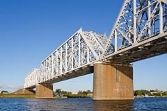 Yaroslavl, Bridge over the Volga River