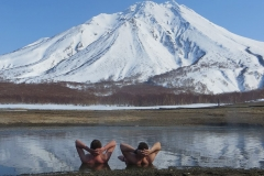 Hot Termal springs of Kamchatka