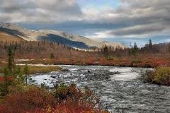 Autumn rivers of the peninsular