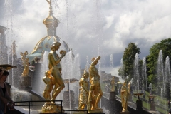 Peterhof Fountain Central
