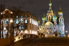 St. Petersburg - night