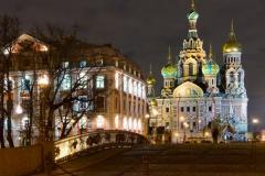 St. Petersburg - night